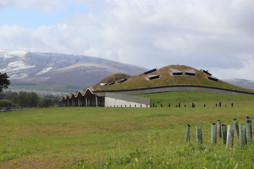 The Macallan Distillery located in the Speyside Region of Scotland