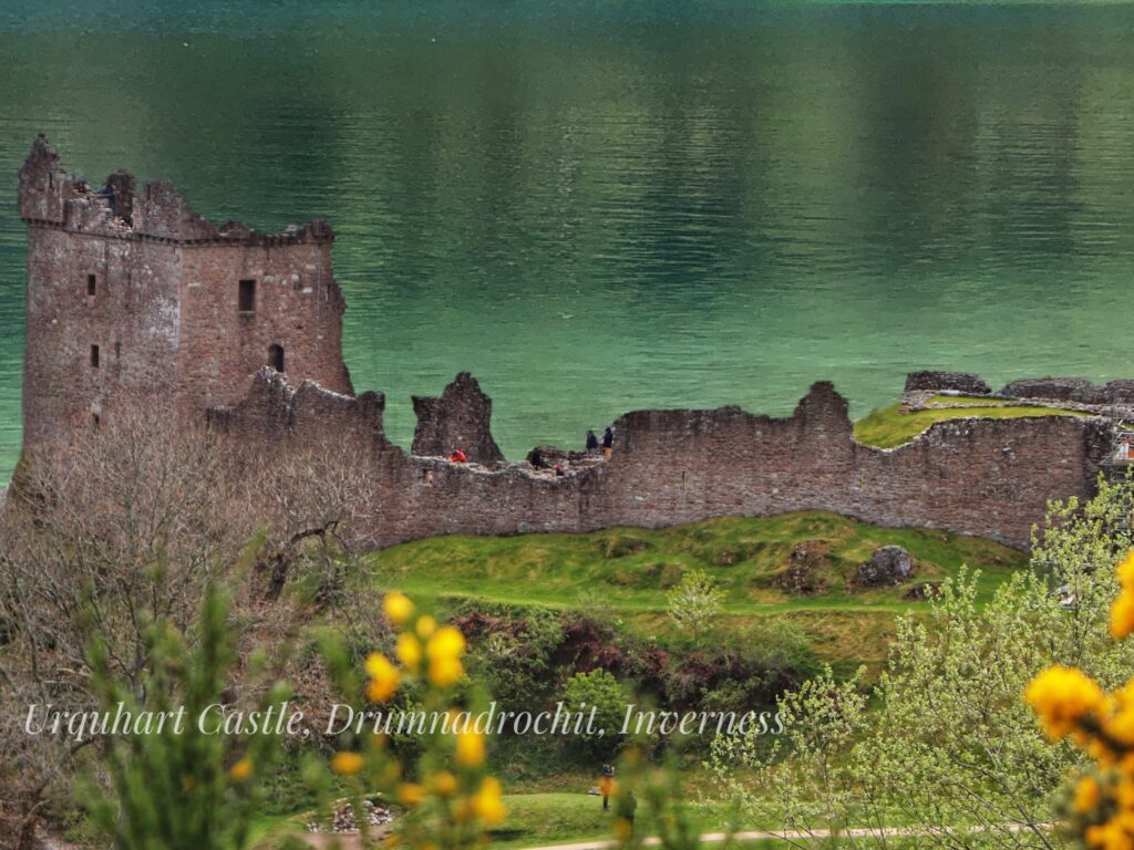 Urquhart Castle, Drumnadrochit, Inverness, Scotland