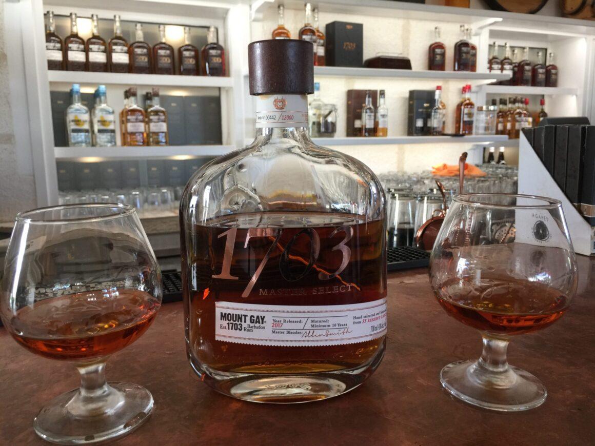 Barbados Rum Served at Mount Gay