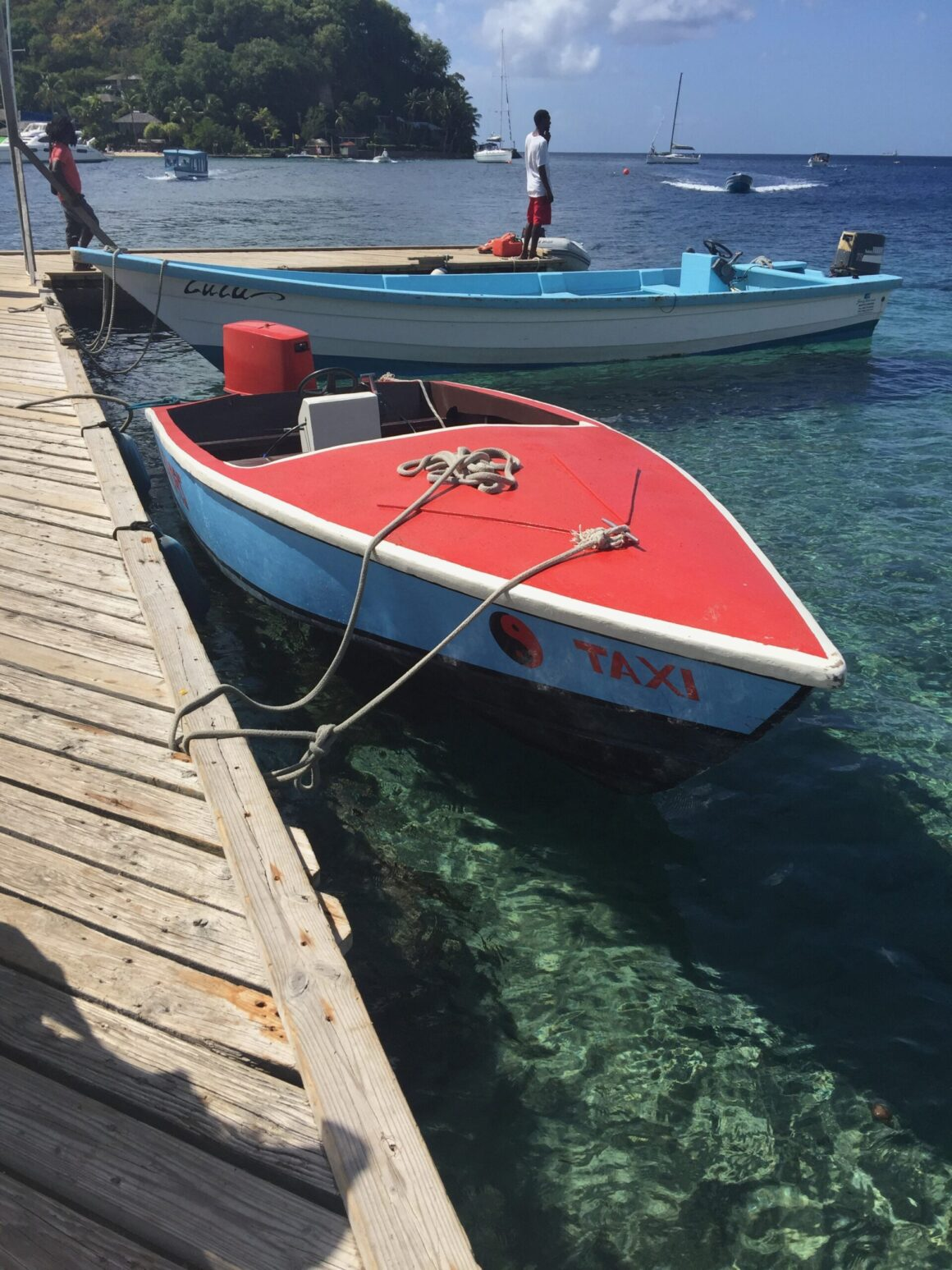 Boats Docked in St Vincent