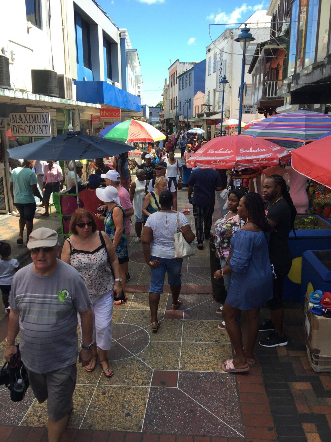 Barbados Bridgetown Shopping