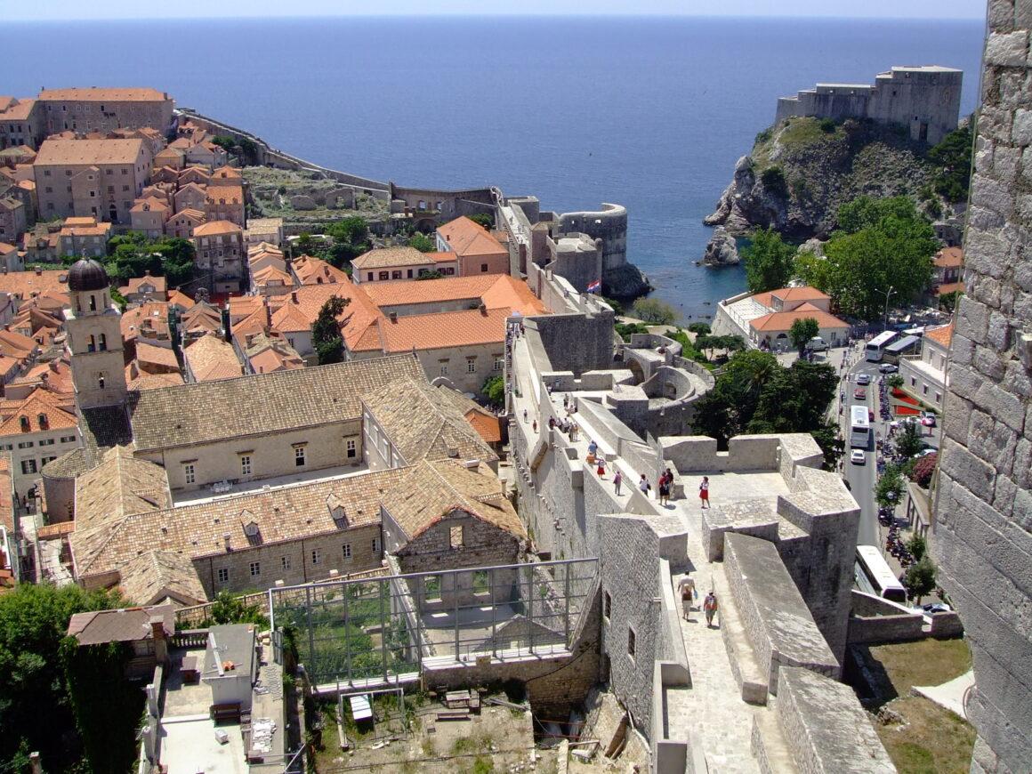 Dubrovnik City Walls Walkway
