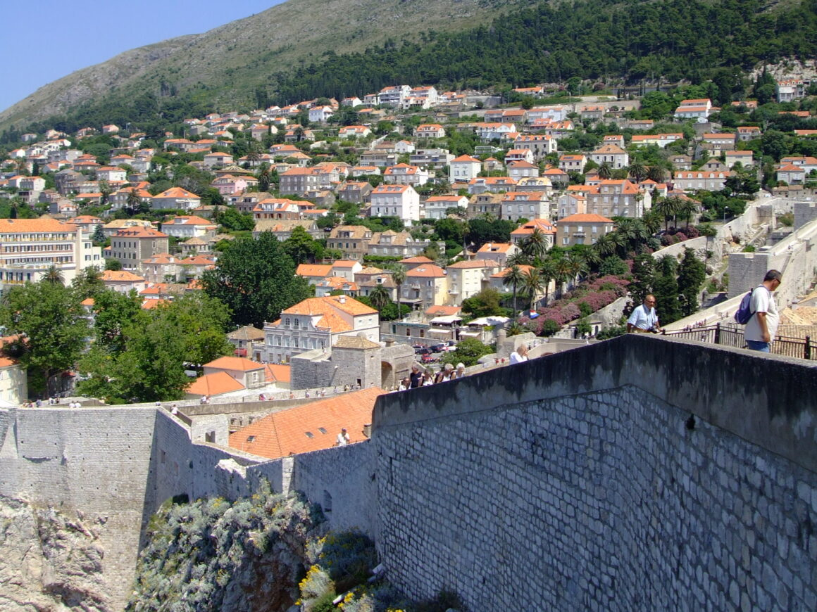 Dubrovnik Homes on Hillside