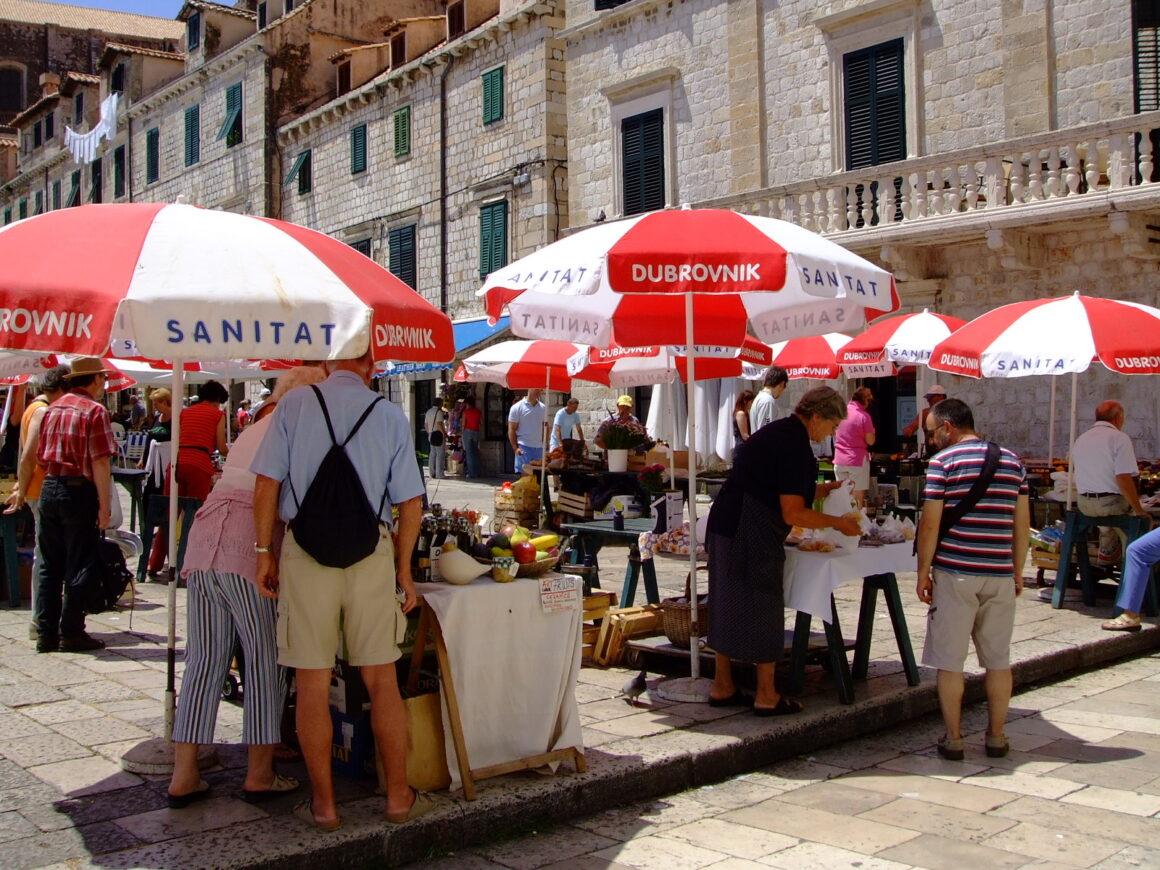 Dubrovnik Outdoor Market