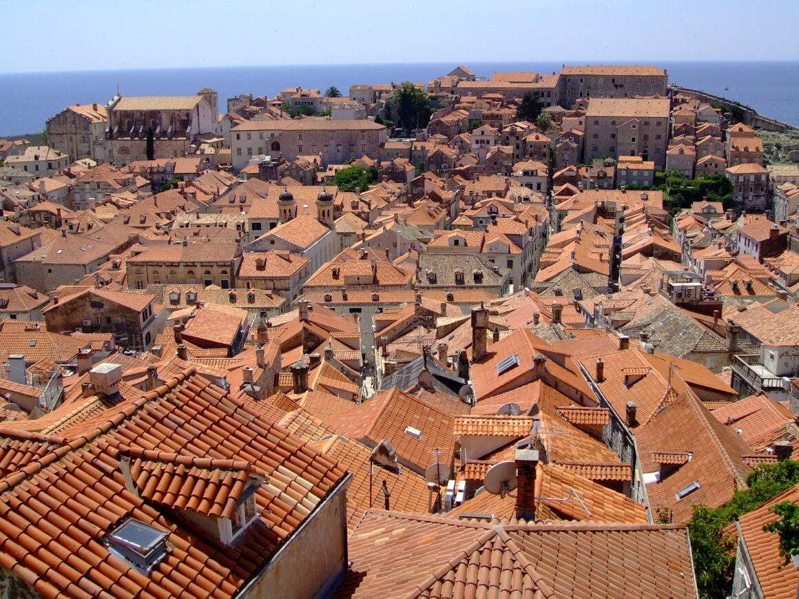 Dubrovnik Terracotta Rooftops of Old Town