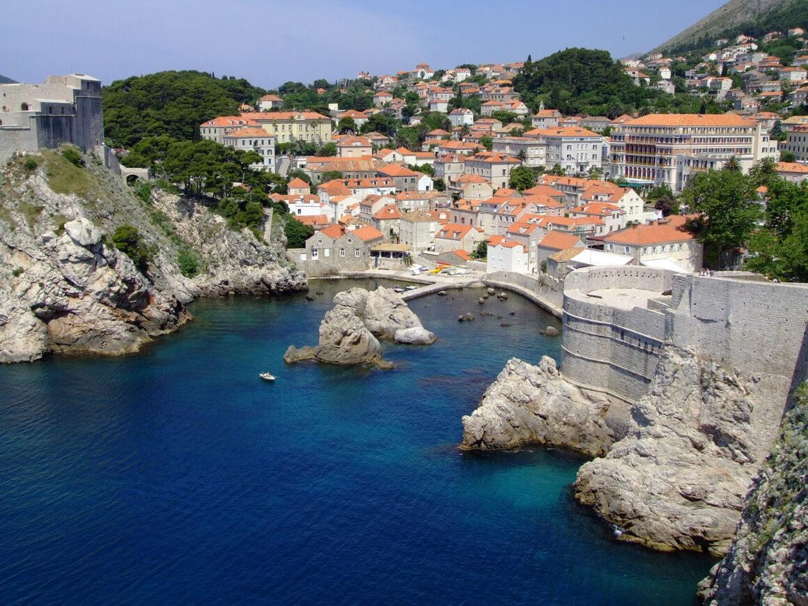 Old Port at Dubrovnik Croatia