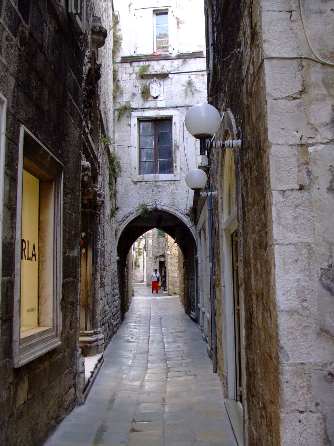 One of the Many Narrow Streets in Split