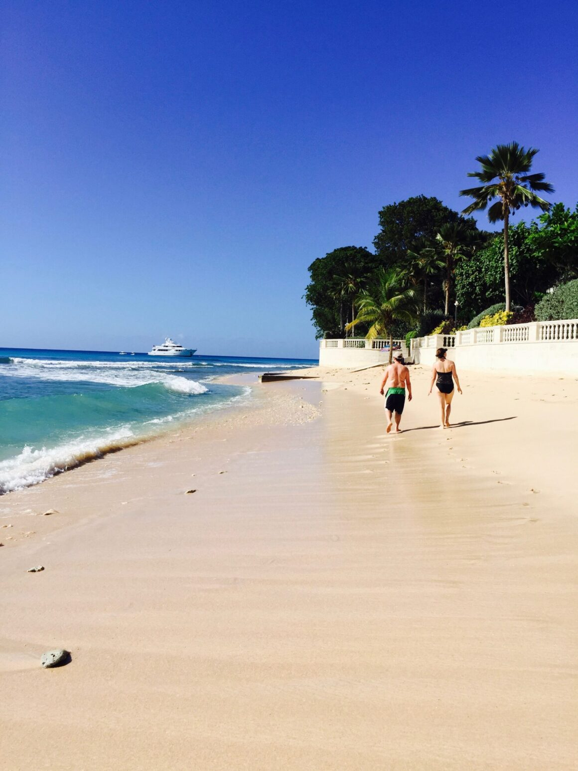One of the Many Perfect Barbados Beaches