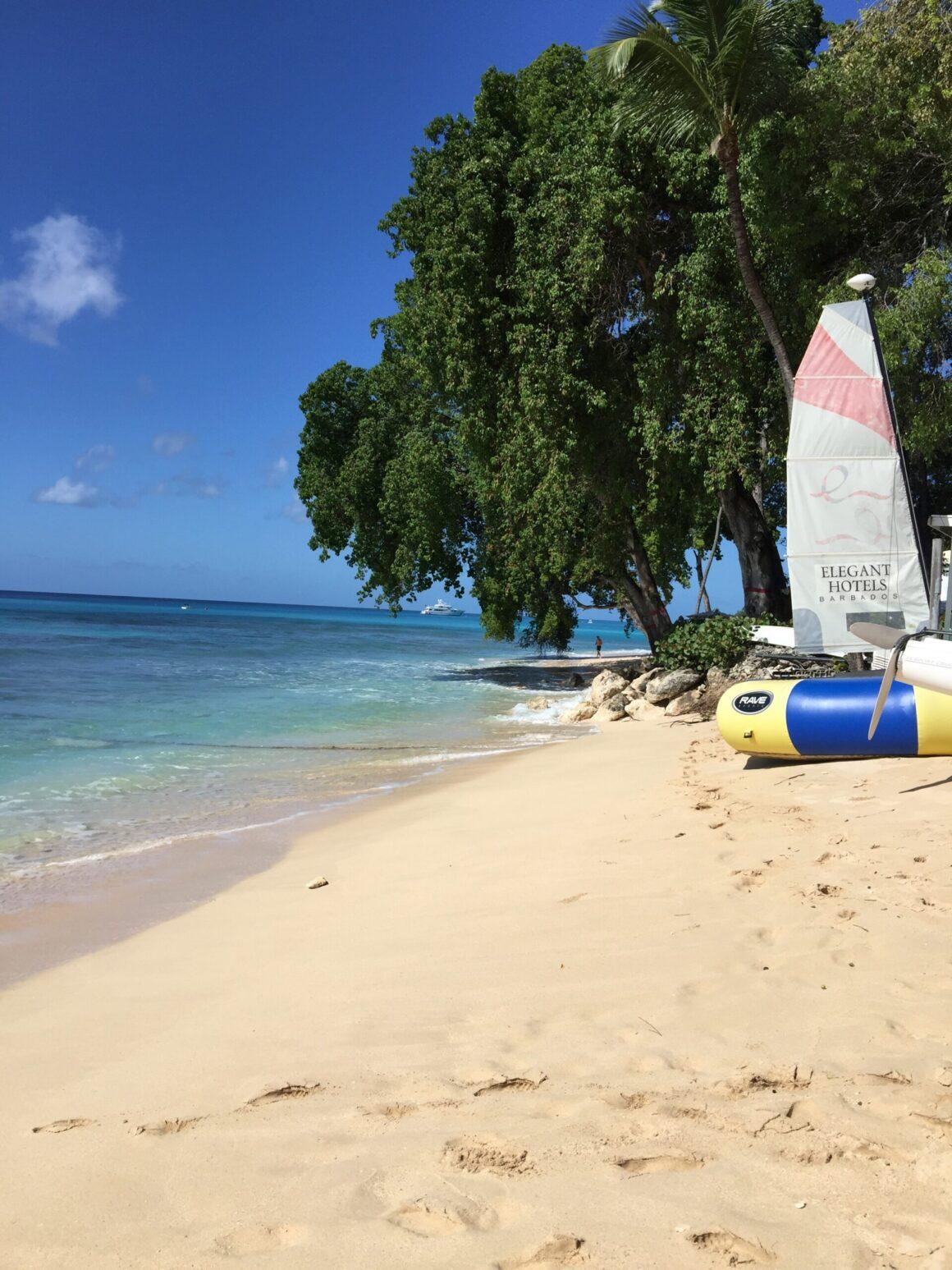 Peaceful Barbados Beach