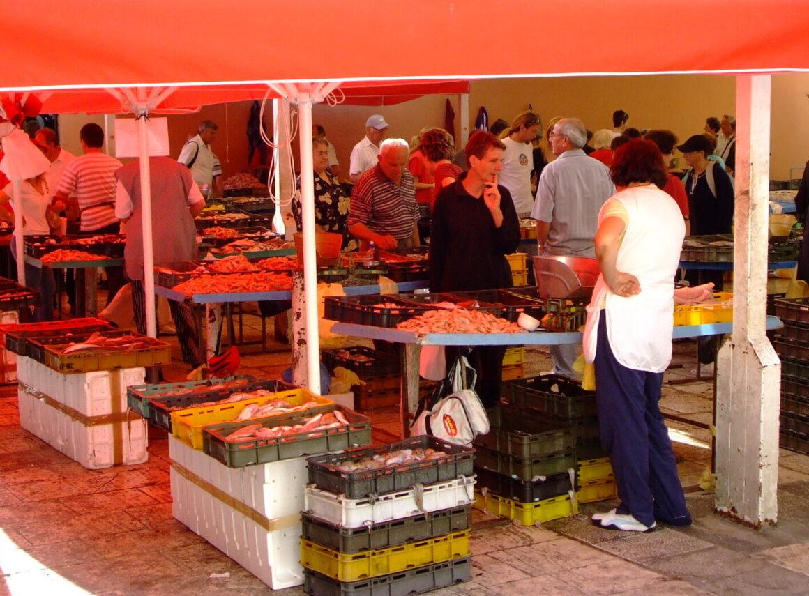 Farmers Market in Split