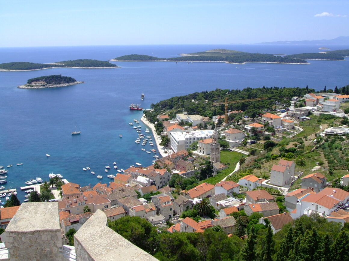 View from the Top of Hvar