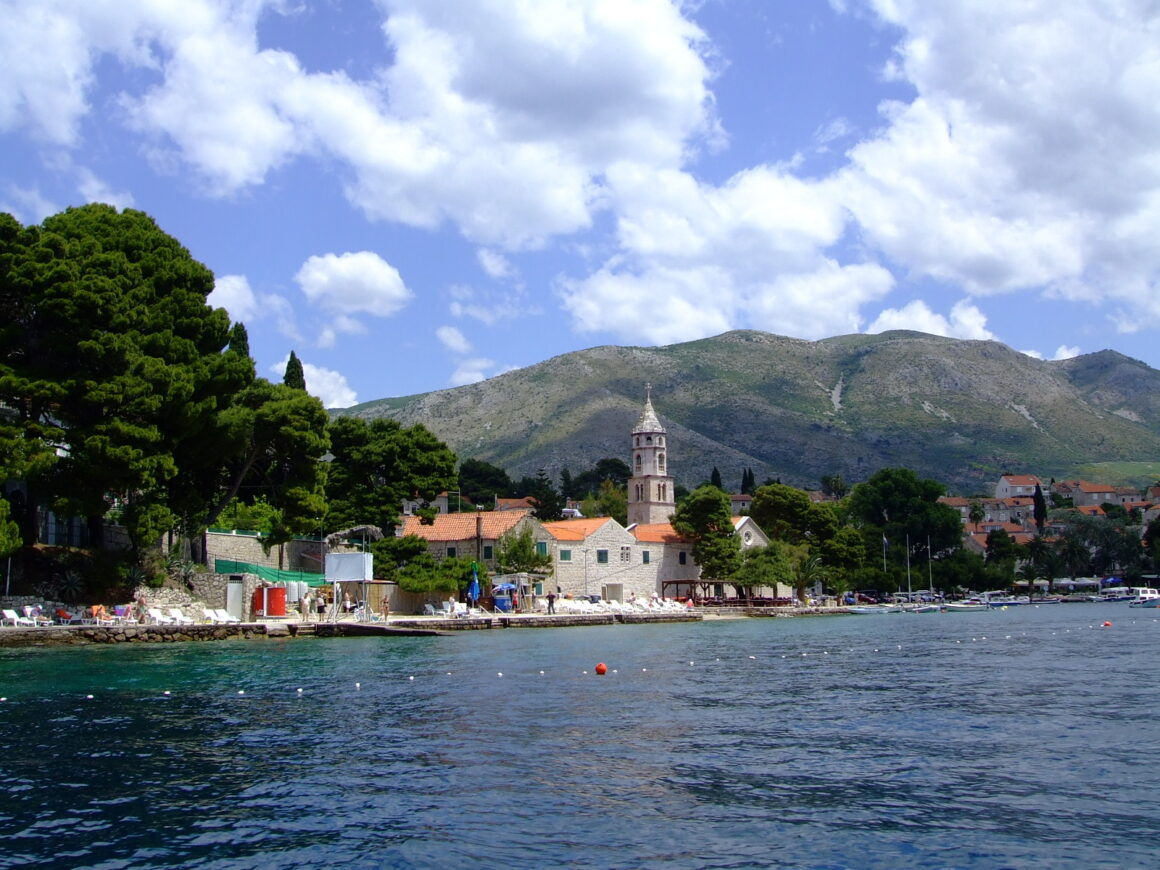 View of Cavtat Old Town from the Water