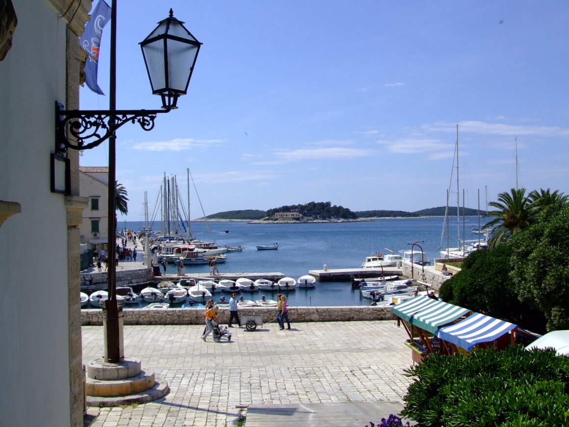 View of Hvar Waterfront