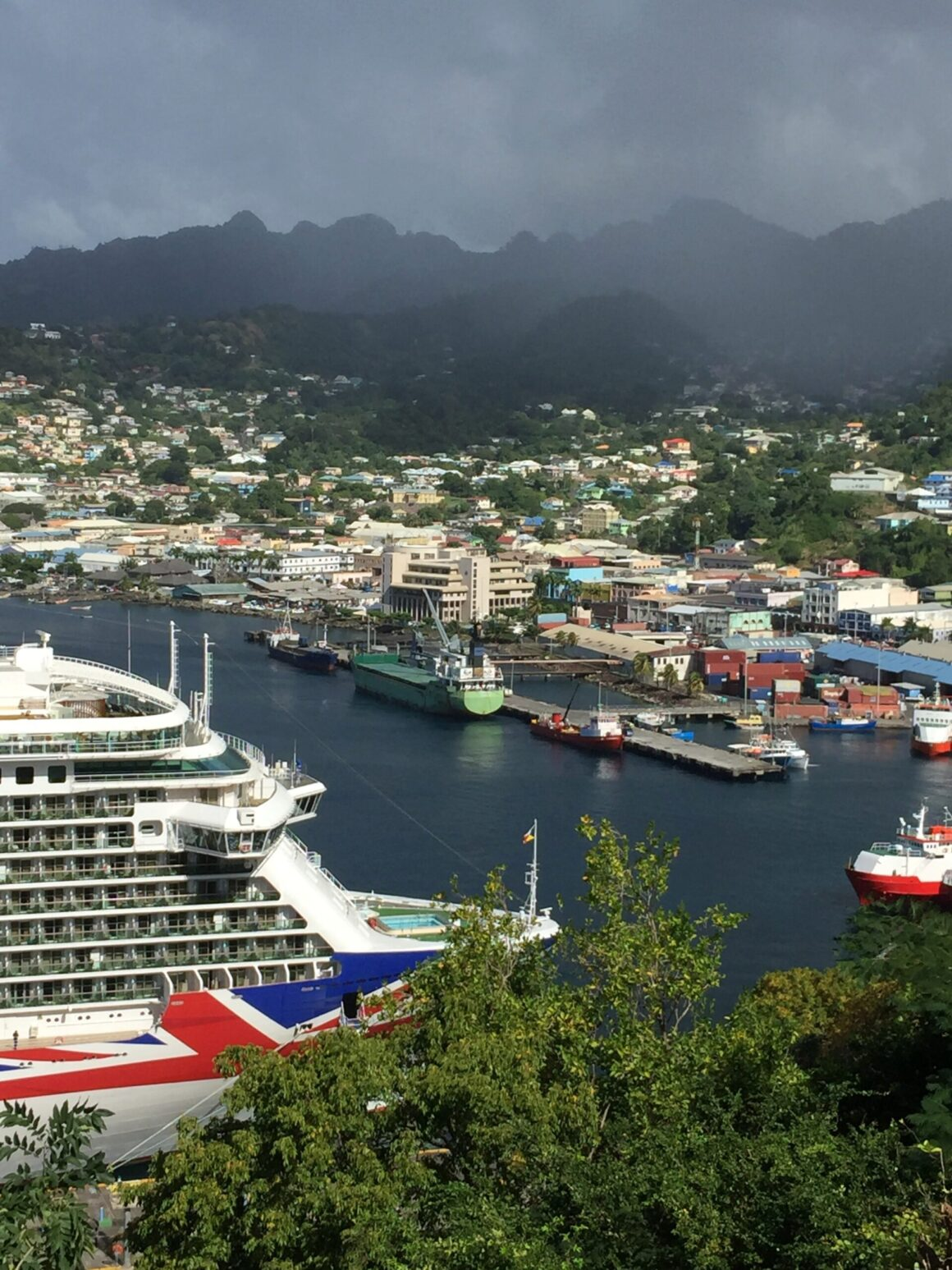 View of Kingstown St Vincent