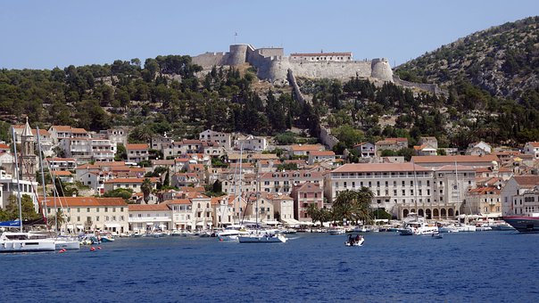 View of Spanjola Fortress from the Water