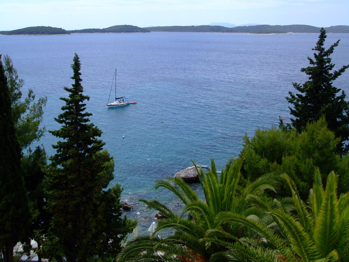 View of the Bay from Hvar