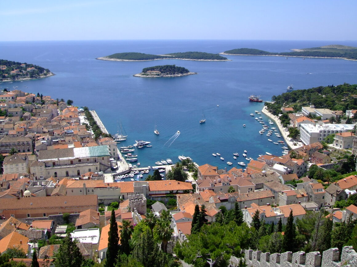 Views from Hvar's Spanish Fortress