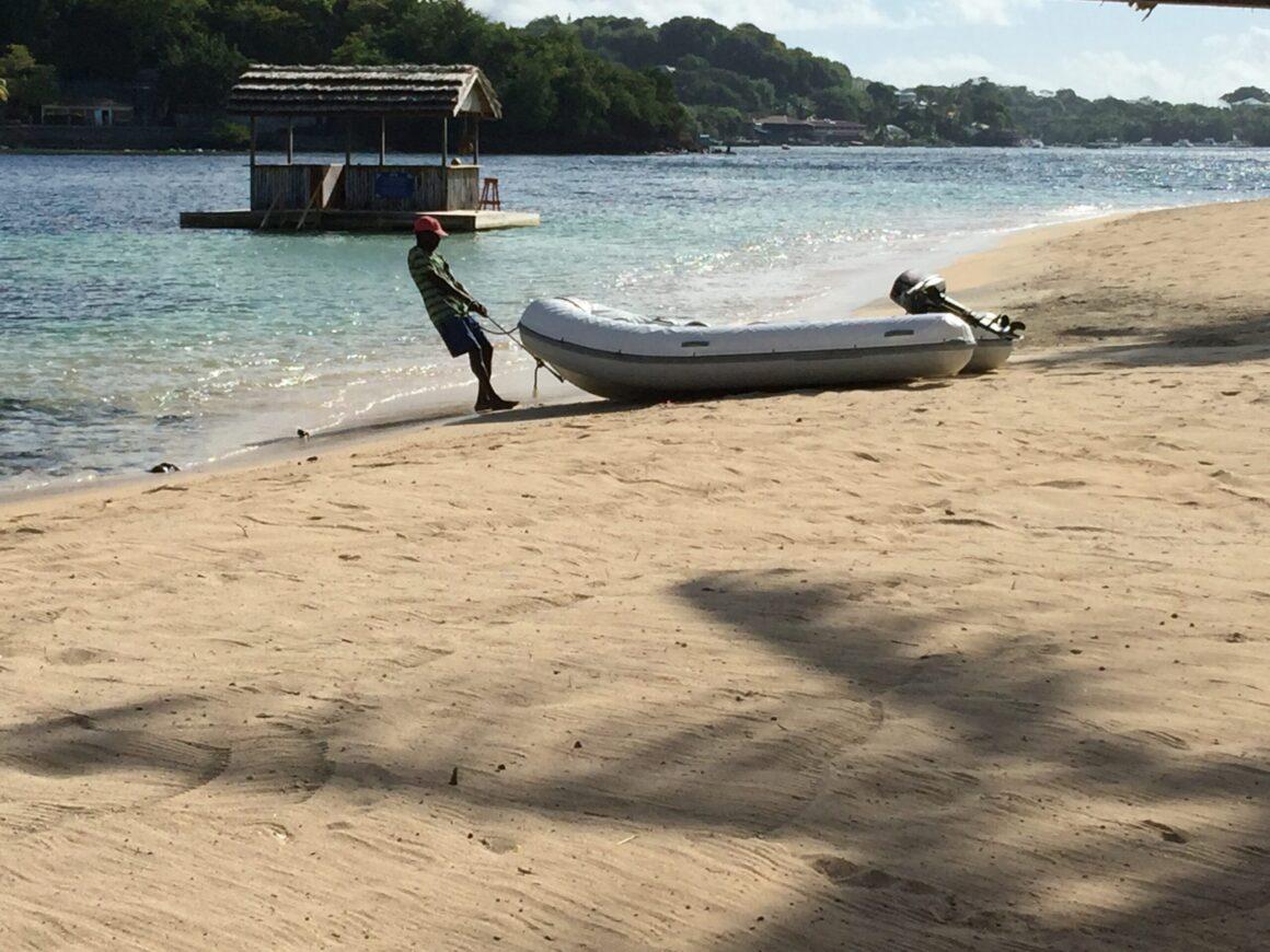 Young Island Resort Beach