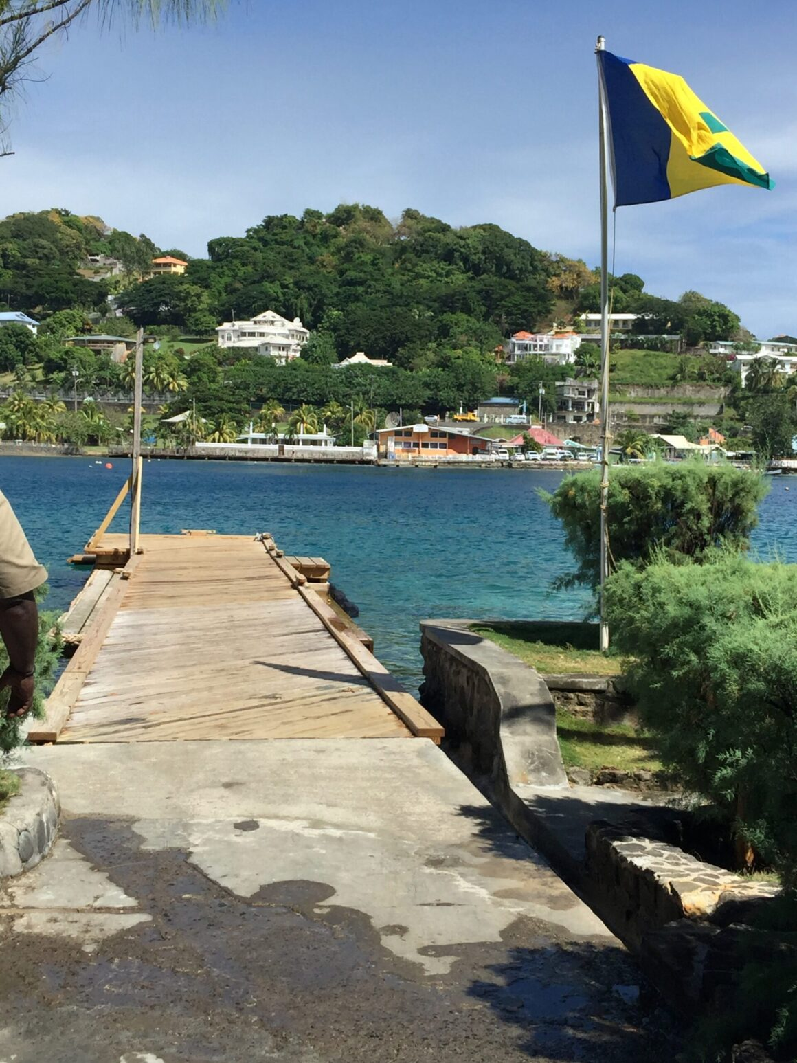 Young Island Resort Boat Launch