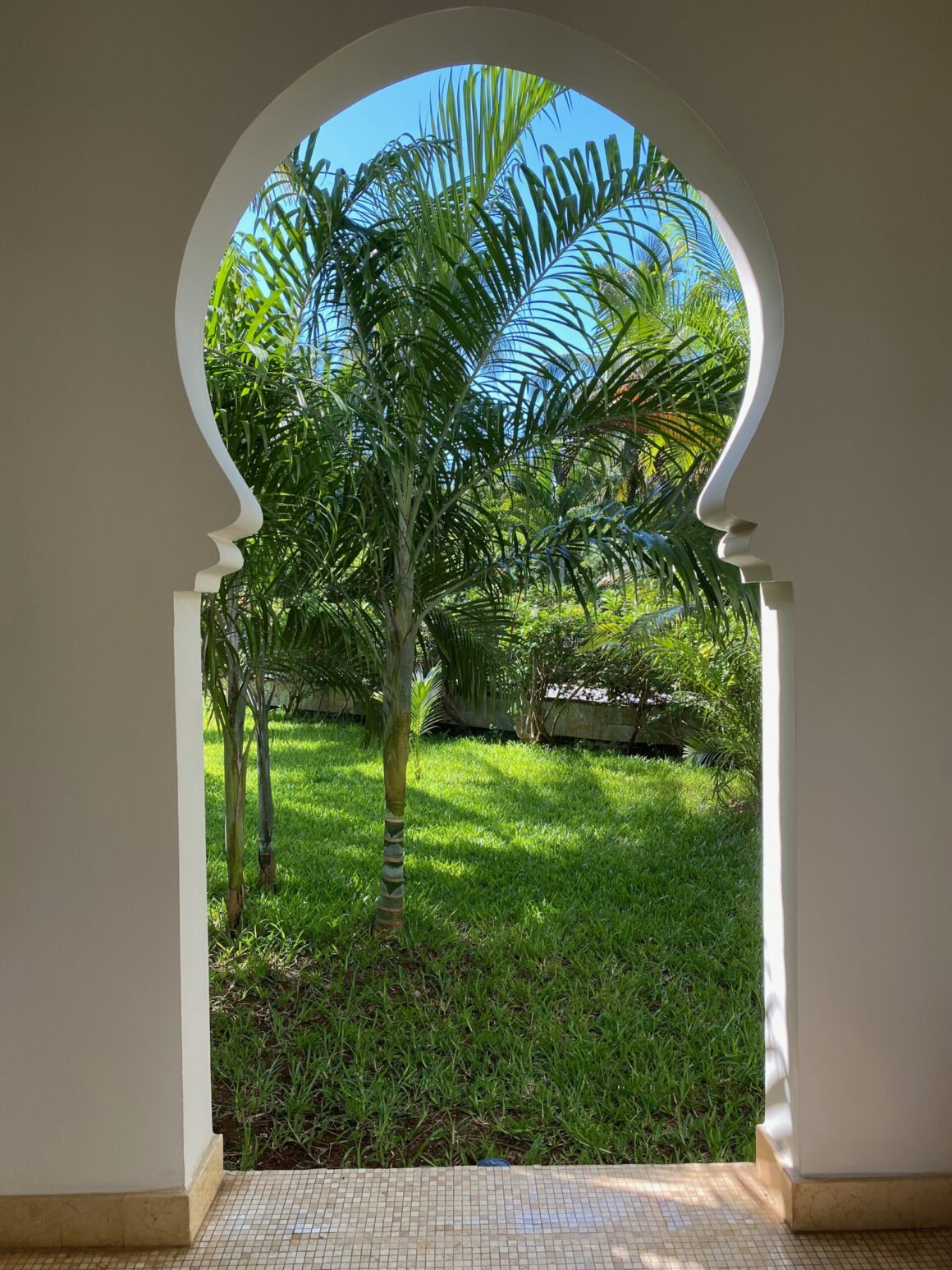 baraza resort archways during the day