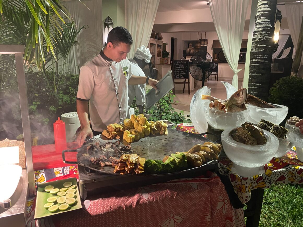 Baraza Resort careful eye of chef