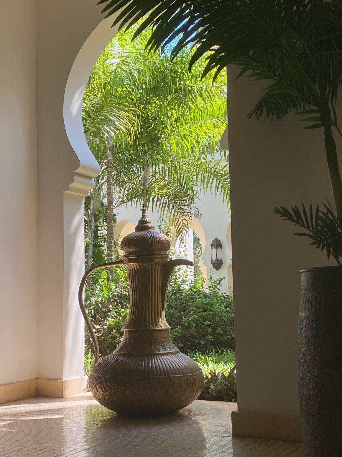 Baraza Resort doorway