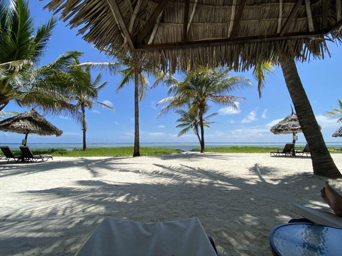 Baraza Resort view from cabana