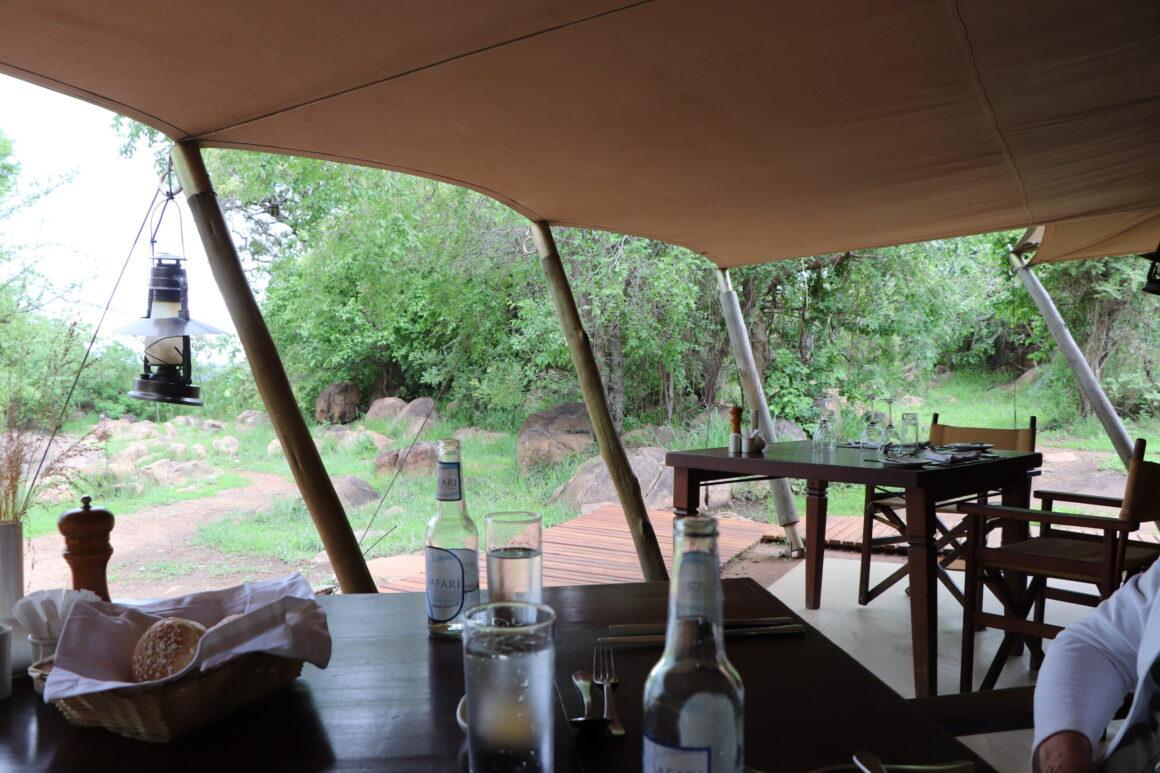 breakfast tent elewana pioneer camp