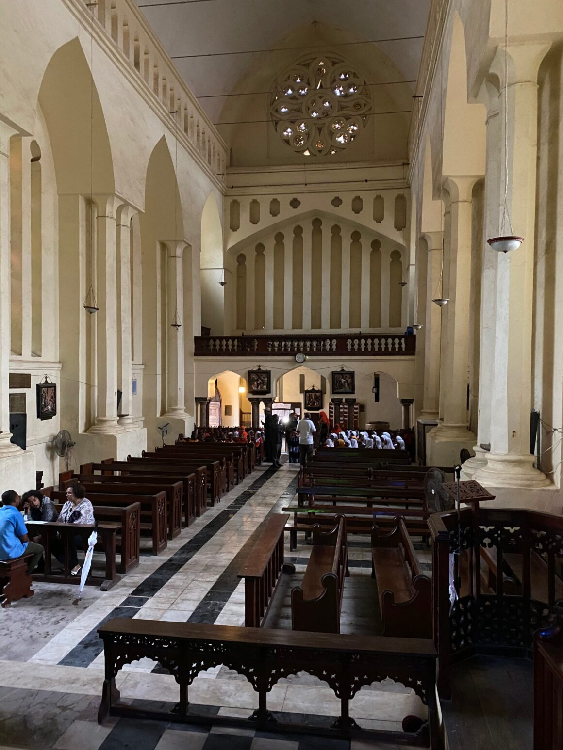 First Anglican cathedral in stone town