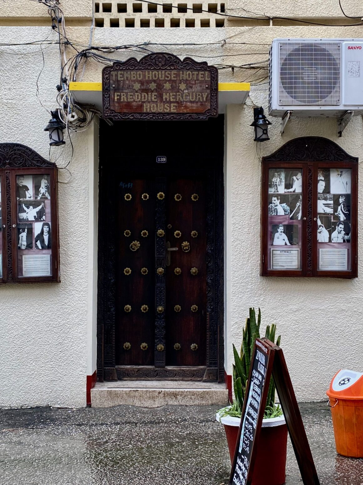 Freddy Mercury House located in Stone Town