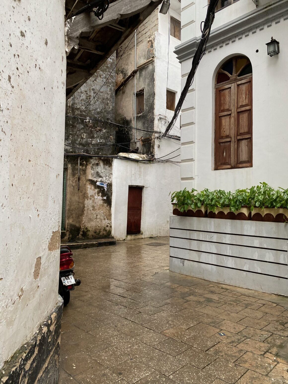 Labyrinth of narrow streets in Stone Town