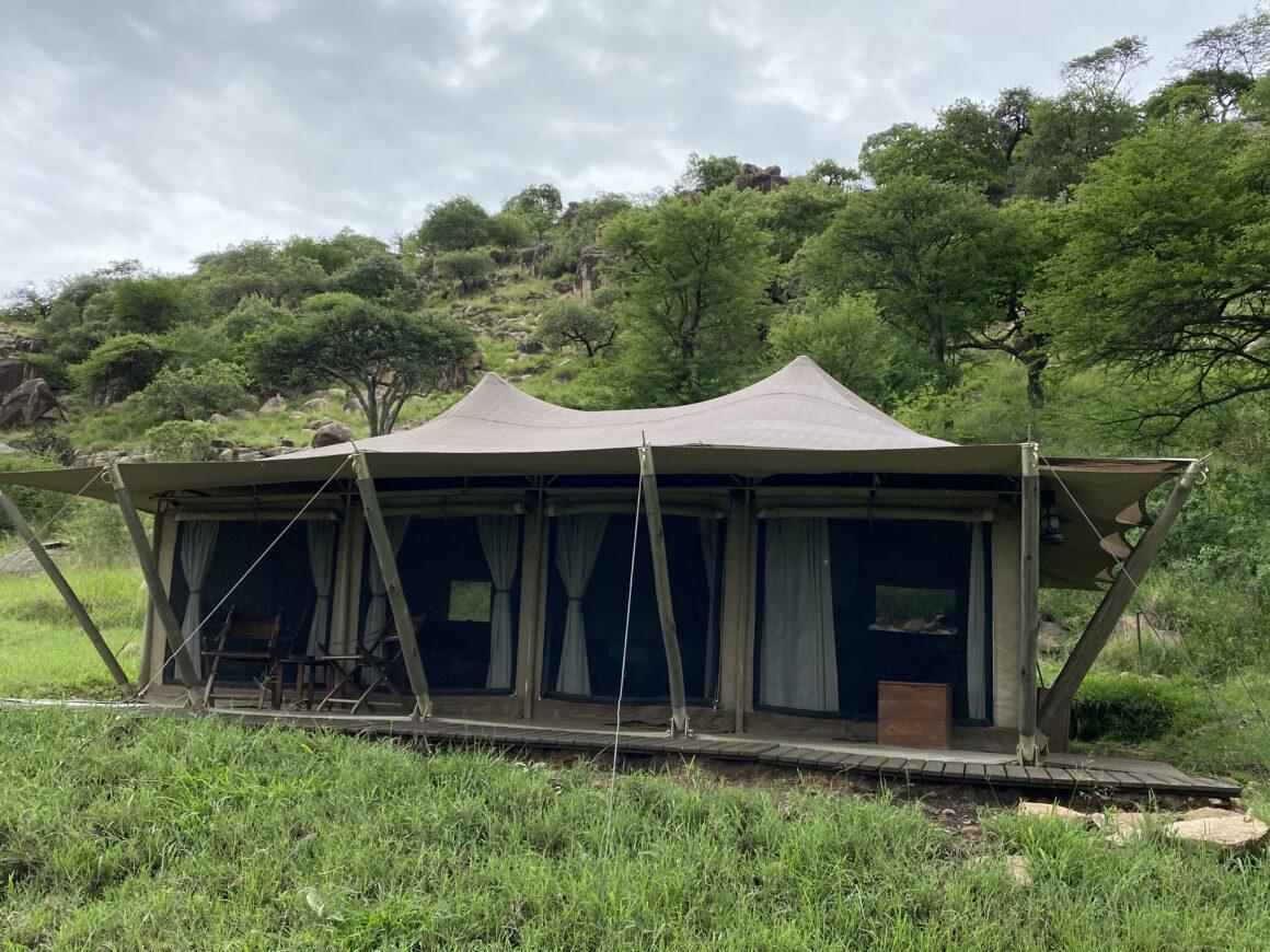 view of tent elewana pioneer camp